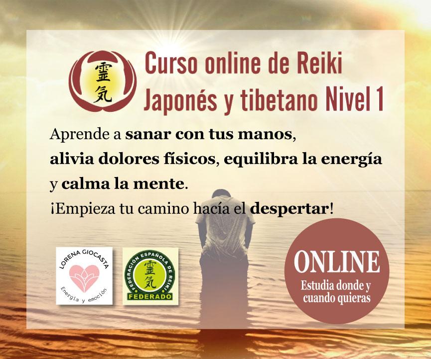 Curso online de Reiki – nivel 1