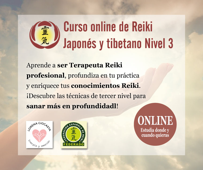 Curso online de Reiki – Nivel 3